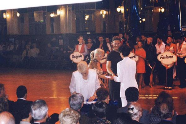 Compétition danse latine